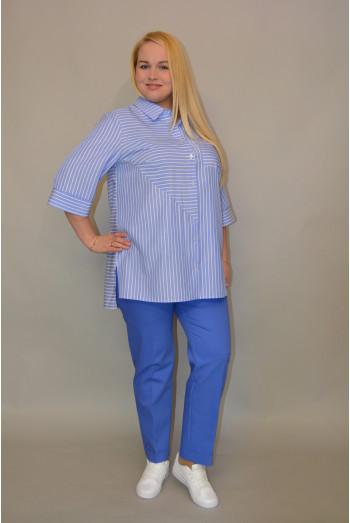 Бл-038. Блуза летней Джинсы