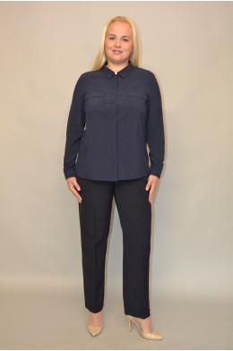 Бл-054.  Блуза из ткани Индо