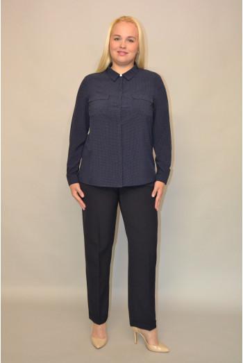 054.  Блуза из ткани Индо