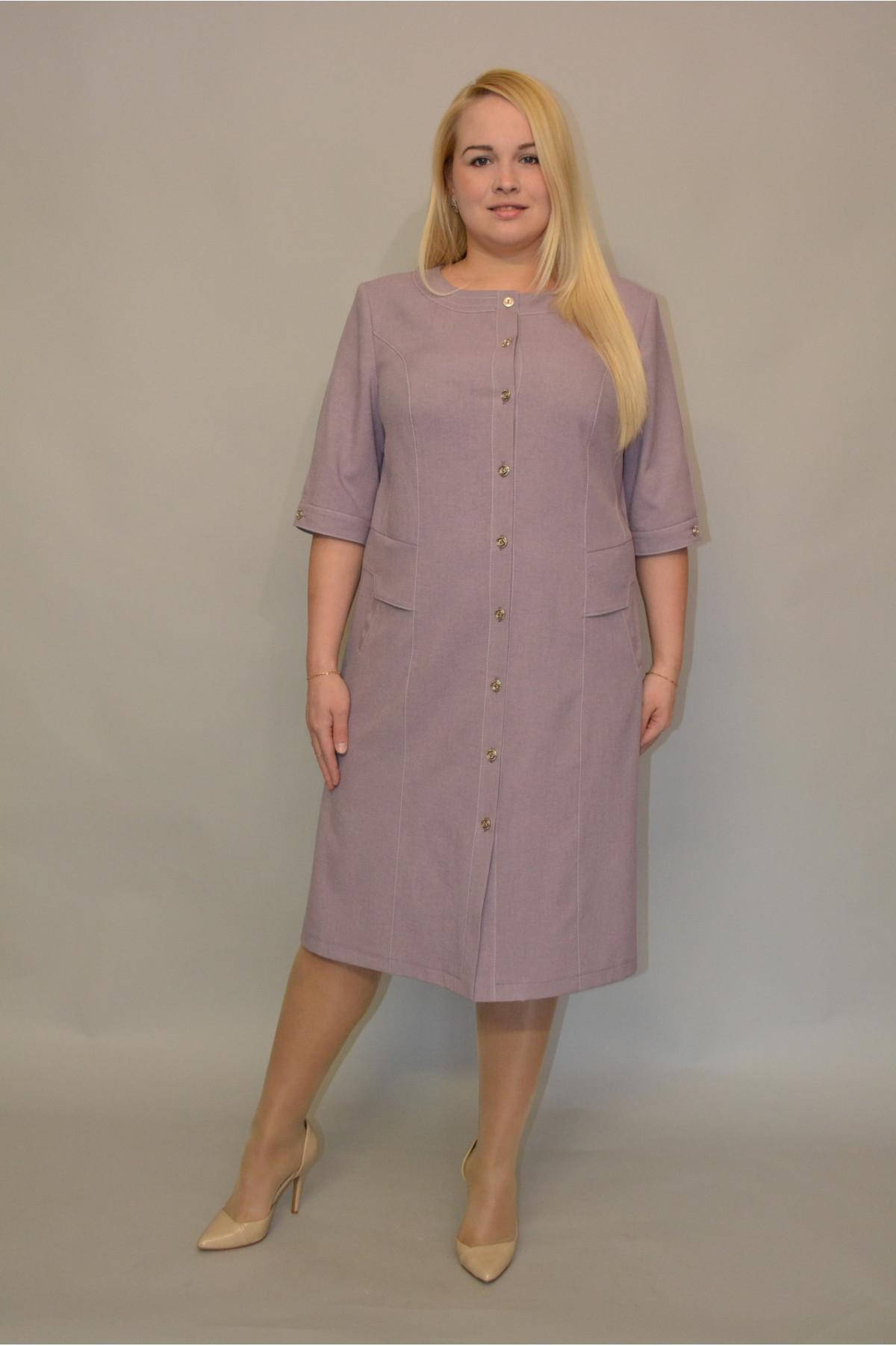 купить платье из льна