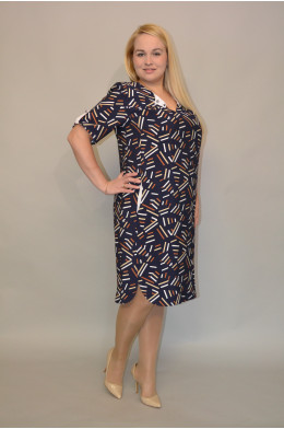 756. Платье из Штапеля