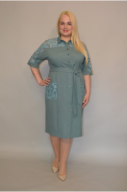1010. Платье из Льна