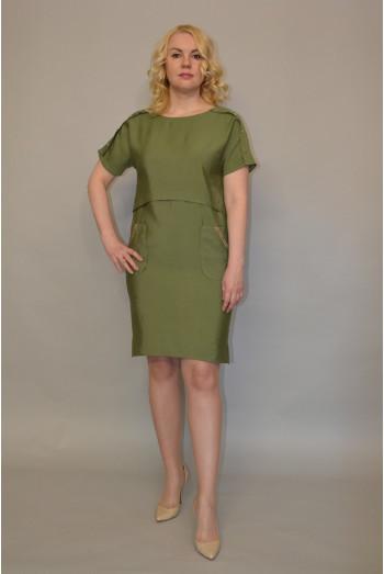 1015. Платье из Хлопка