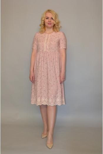 1016. Платье из Штапеля