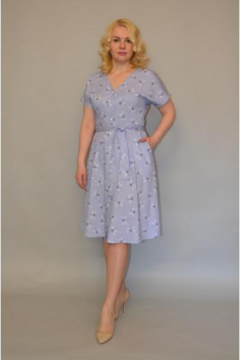 1017. Платье из Хлопка