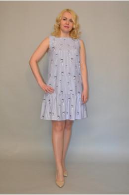 1018. Платье из Хлопка