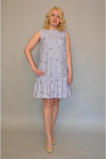 1018. Платье