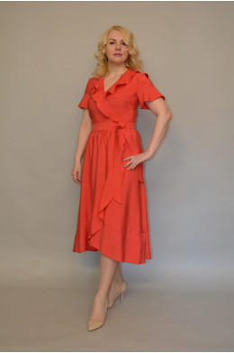 1020. Платье из Хлопка