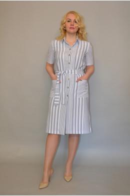 1021. Платье из Льна