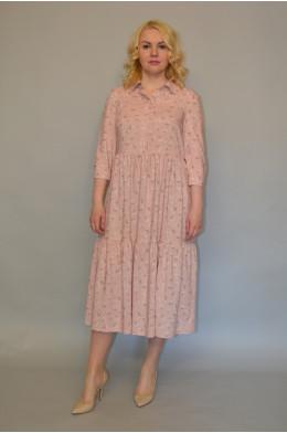 1022. Платье из Штапеля