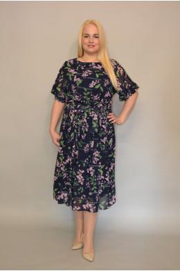 1025. Платье из Шифона