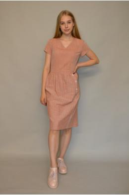 1029. Платье из Льна