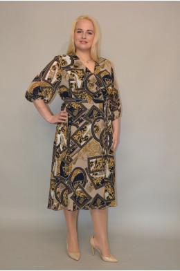 1030. Платье из  Шифона