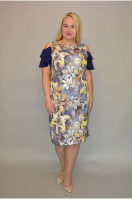 1034. Платье из Крепа