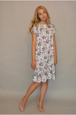 1037. Платье из летнего Джинса