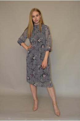 1040. Платье из Шифона