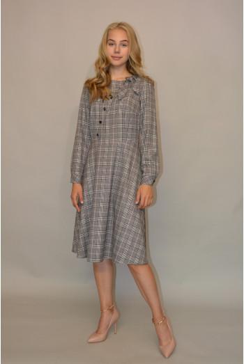 1043. Платье из Костюмной ткани