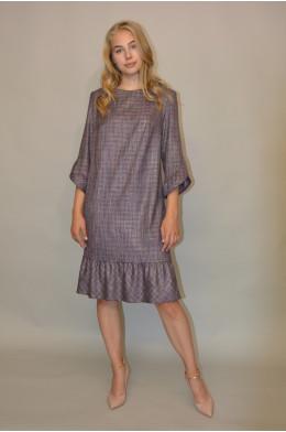 1044. Платье из Костюмной ткани