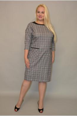 1046. Платье из Костюмной ткани