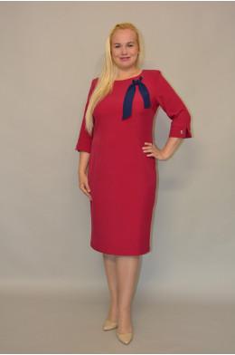 1051. Платье из Костюмной ткани