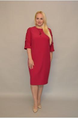 1052. Платье из Костюмной ткани