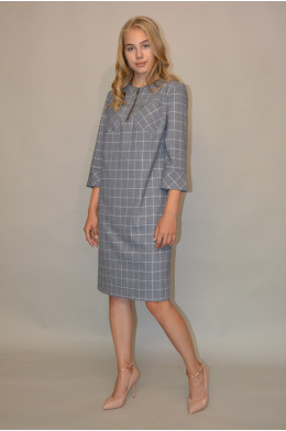 1055. Платье из Костюмной ткани
