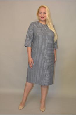1056. Платье из Костюмной ткани