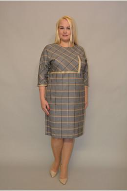 1062. Платье из Костюмной ткани