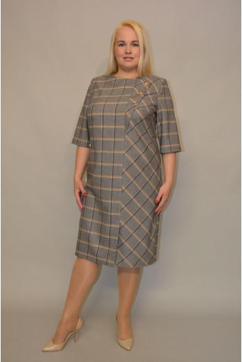 1063. Платье из Костюмной ткани