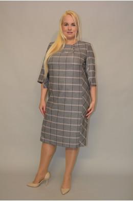 1068. Платье из костюмной ткани