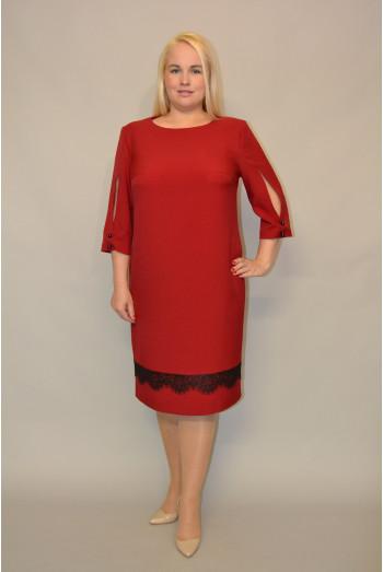 1070. Платье из костюмной ткани Зара