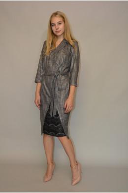 1072. Платье из костюмной ткани