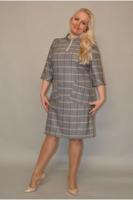 1073. Платье из Костюмной ткани