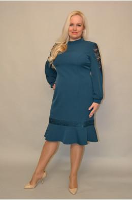 1075. Платье из Костюмной ткани