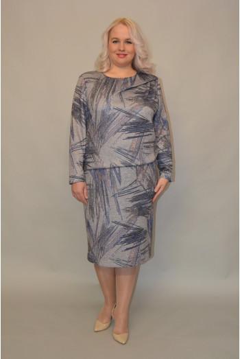 1076. Платье из трикотажной ткани