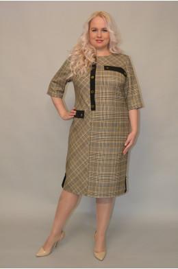 1080. Платье из Костюмной ткани