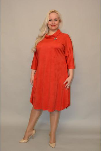1084 Платье из Замши