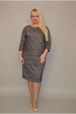 1089. Платье из трикотажного полотна