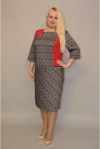 1093. Платье из ткани Милано