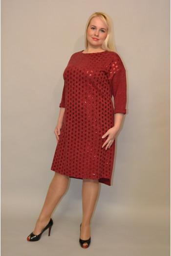 1097. Платье Ангоры с пайетками