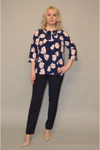 031/1. Блуза из ткани Индо