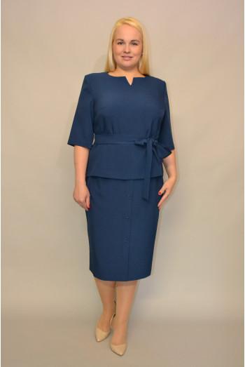 056. Блуза из костюмной ткани