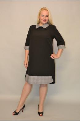 795. Платье Комбинированное