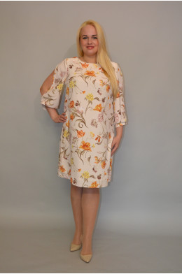 857/1. Платье из Крепа