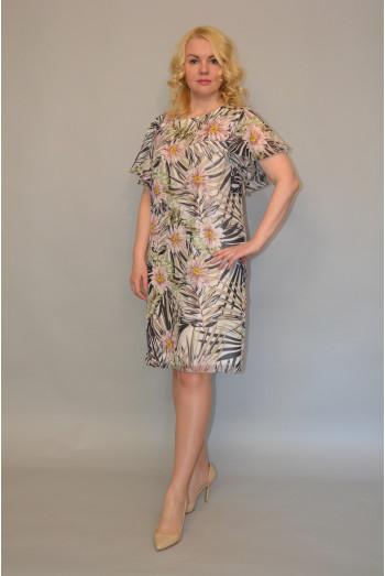 898. Платье из Шифона