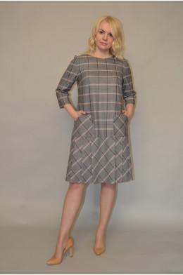 907. Платье из Костюмной ткани