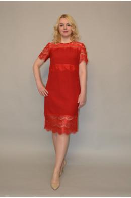 926. Платье из Гипюра и Крепа