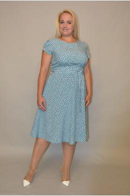 1008. Платье из ткани Индо