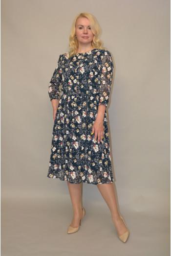 1009. Платье из Шифона