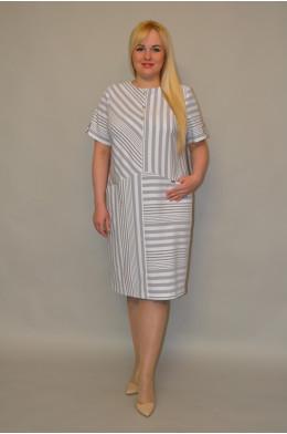 1053/1. Платье из Льна